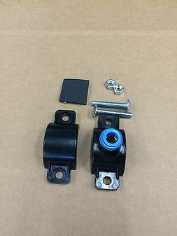 """Drain Saddle Valve Clamp 3/8"""" Quick Connect Reverse Osmosis"""