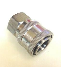 STAINLESS STEEL 1/4 NPT PRESSURE WASHER QUICK CONNECT 8.707-
