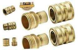 Twinkle Star Garden Hose Brass Quick Connector Set, 2 Pack,