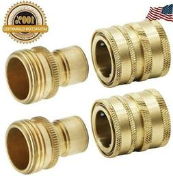 Twinkle Star Garden Hose Brass Quick Connector Set 2 Pack TW