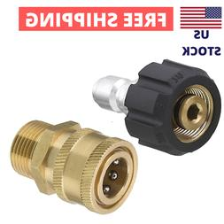 Twinkle Star Pressure Washer Adapter Set, Quick Connect Gun