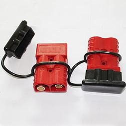 X-Haibei Winch Quick Connect Jumper Cables Kit Trailer Plug